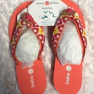 Lindsay Phillips SwitchFlops LuLu Size 8